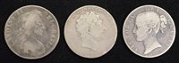 Lot 43-Three historical Silver Crowns (3).