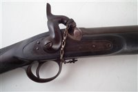 Lot 33 - James Aston of Hythe P53 Percussion rifle