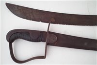 Lot 185-Two 1796 pattern light cavalry sabres