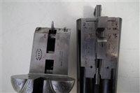 Lot 63-Westley Richards drop lock side by side shotgun with single trigger serial number 16812