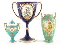 Lot 60-Three Minton vases