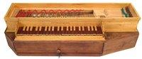 Lot 5-Modern fretted Clavichord by David Owen
