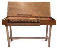 Lot 1-Modern unfretted Clavichord by Alec Hodsdon 1953