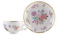 Lot 28-Derby tea cup and saucer
