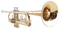 Lot 52-Yamaha YTR 2335 trumpet serial number 410251 with hard case