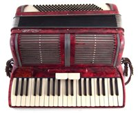 Lot 27-Scandalli accordion with case