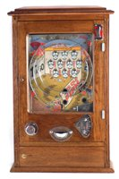 Lot 2-Wondermatic 'Wonders Coconut Dong Chipperfields' penny slot machine
