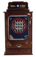 Lot 11-Oliver Whales 'Target for To-Night' penny slot machine