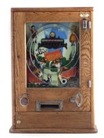 Lot 17-Oliver Whales Redcar 'Win a Nestles Milk Chocolate' penny slot machine