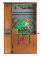 Lot 22-Mastermatic 'Master Football Game' penny slot machine