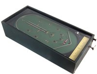 Lot 28-The Wizard pinball game, labelled Oak Tree Series