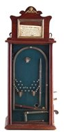 Lot 47-French slot machine, stamped inside A Bessmann