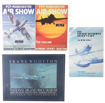Lot 138-Four Airshow posters.