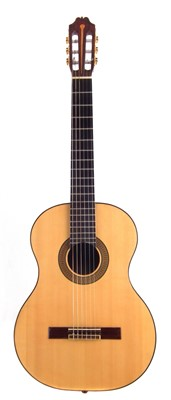 Lot 43-Classical guitar by John Brayford, with hard case