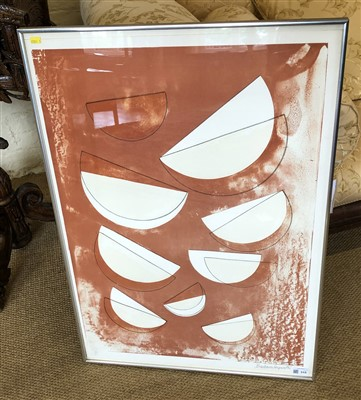 "Lot 315-Barbara Hepworth, ""Olympus"", signed lithograph."