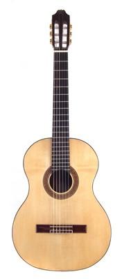 Lot 45-Classical guitar handmade by John Brayford