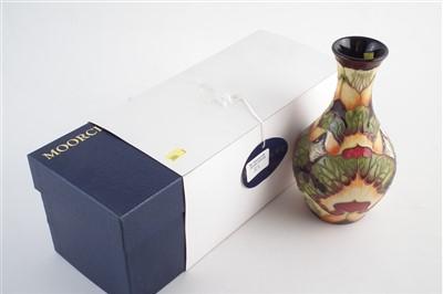 Lot 238 - Moorcroft design trial vase