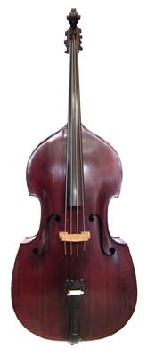 Lot 2-German double bass