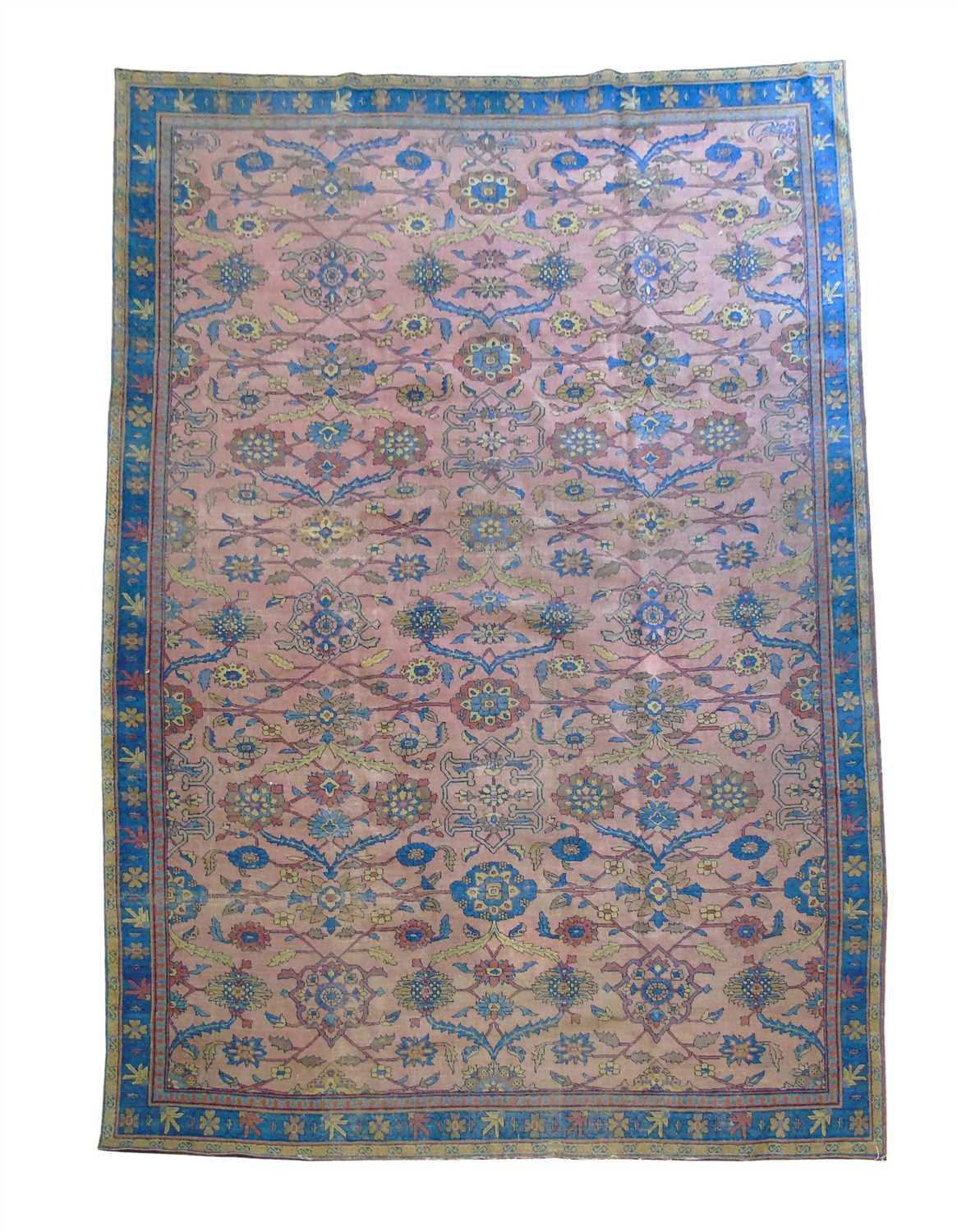 549 - Late 19th century Lilihan carpet.