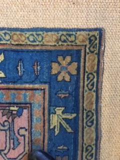 Lot 549-Late 19th century Lilihan carpet.