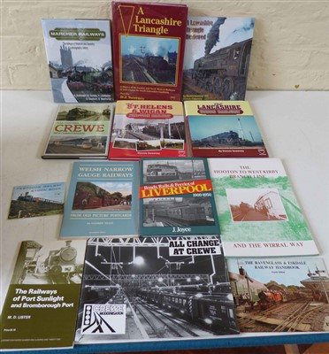 Lot 149-Collection of books, booklets and pamphlets relating to railways in North West England.