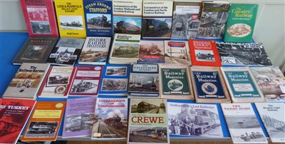 Lot 154-33 publications featuring trains