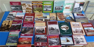 Lot 159-A quantity of railway publications