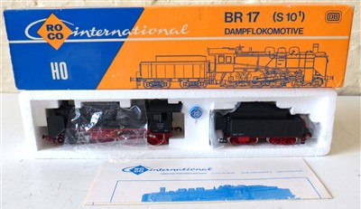 Lot 178-Boxed Roco international locomotive BR17 (510), 04115A