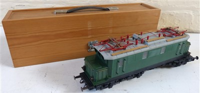 Lot 185-3mm tram cart in S.M. kit and box makers box