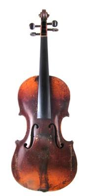 Lot 5-Late 19th century Violin