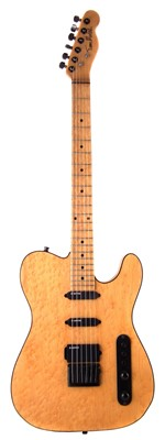 Lot 50-Tom Mates Telecaster with case