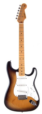 Lot 41-Fernandes 1950's stratocaster style guitar