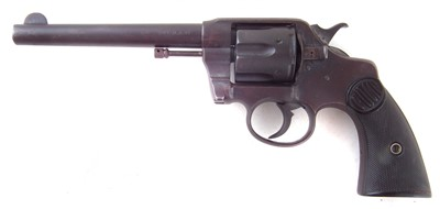 Lot 45-Colt double action revolver 41 long colt serial number 269197, with inert rounds and holster