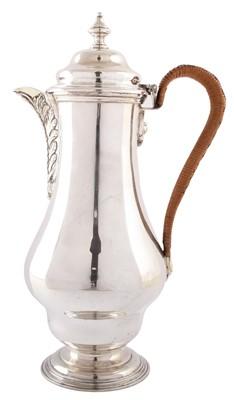 Lot 34-Silver hot water jug