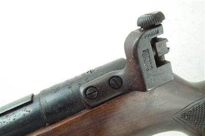 Lot 166-Webley Mk3 .22 air rifle with target sight