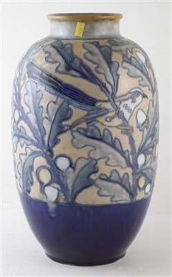 Lot 240 - Royal Doulton tube lined vase.