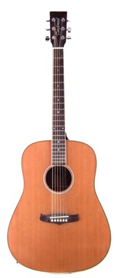 Lot 54-Tanglewood steel string acoustic guitar