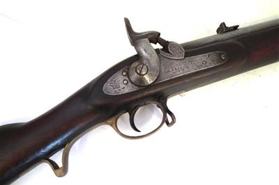 Lot 18-3rd pattern percussion Brunswick Rifle by London Small Arms Company