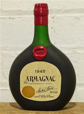 Lot 46 - 1 Bottle Michel Faure Vintage Armagnac 1945