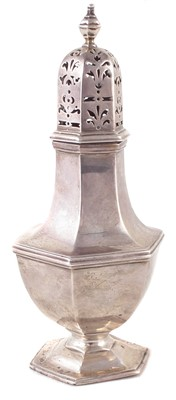 Lot 11-A late Victorian silver sugar sifter