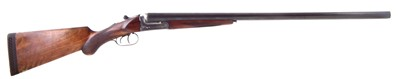 Lot 57-Astra Unceto Imperial 12 bore side by side shotgun