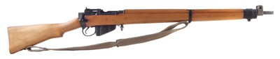 Lot 54-Lee Enfield No.4 Long Branch .303 rifle