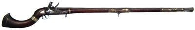 Lot 10-Indian Flintlock Jezail with East India Company lock dated 1811