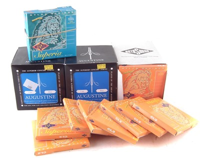 Lot 39-Thirty three sets of classical guitar strings