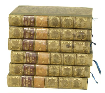 Lot 380-Southey, History of Peninsular War, (6 Volumes)