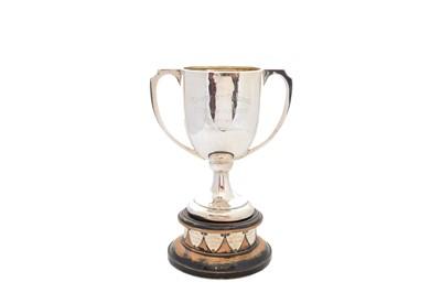 Lot 30-A Walker & Hall silver trophy