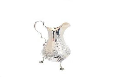Lot 8-A Victorian silver cream jug