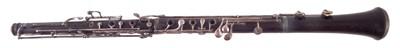 Lot 18-Brevete Paris cocus wood oboe