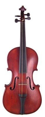 Lot 11-3/4 Size violin in case with bow