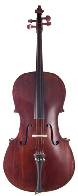 Lot 12-Cello with soft case.